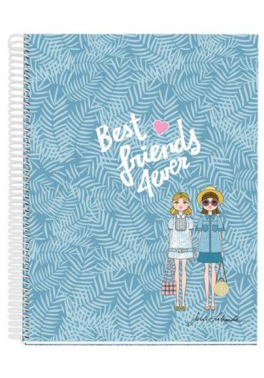 Caiet A5 120 file matematica Best Friends JL