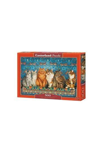 Puzzle 500 piese Cat Aristocracy