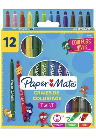 Set 12 creioane cerate Twist