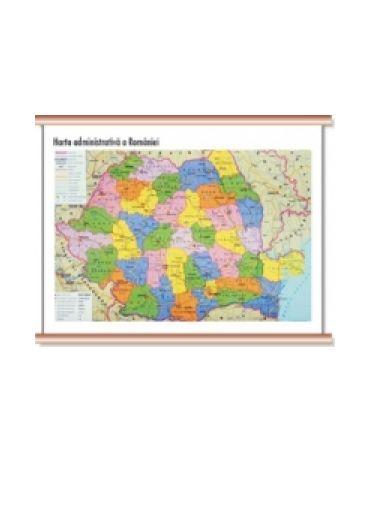 Harta Administrativa a Romaniei