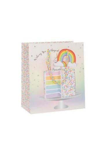 Punga de cadou - Rainbow Cake
