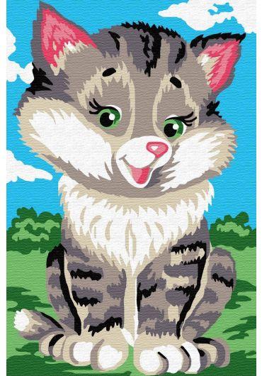 Set Picturi pe numere, Acuarello, 20X30 cm - Foxy