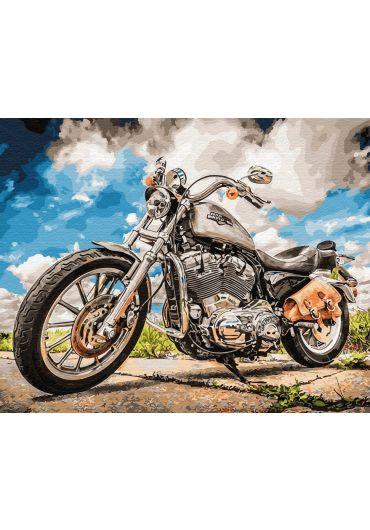 Set Picturi pe numere, Acuarello, 40X50 cm - Moto