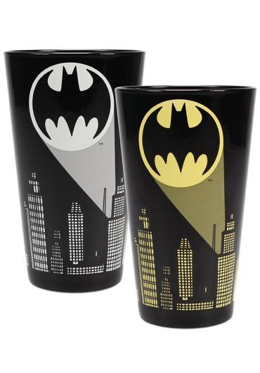Pahar termosensibil - Batman (Bat-Signal)