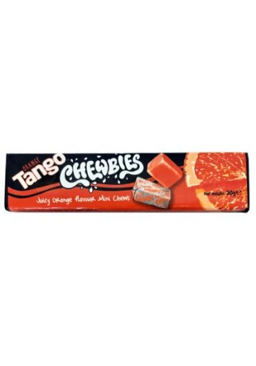 Bomboane gumate - Tango Chewbies Orange