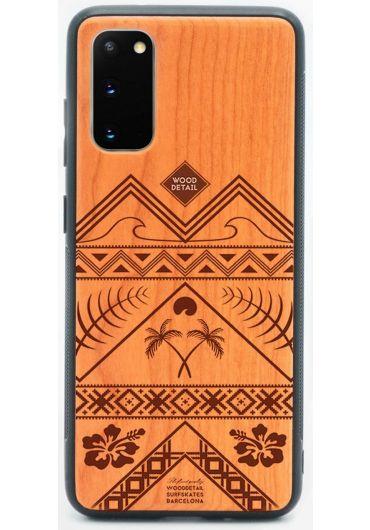 Carcasa din Lemn pentru Samsung S20 - Good Times