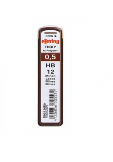 Mina creion 0.5 hb Rotring