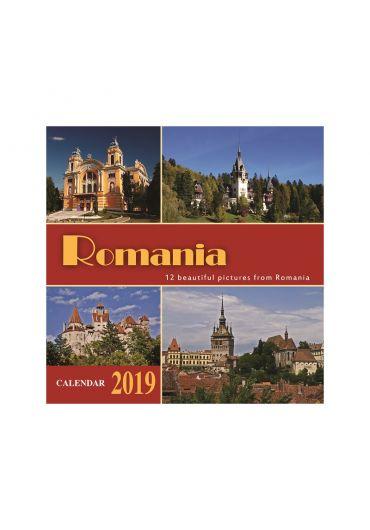 Calendar turistic 2021 20x20 cm
