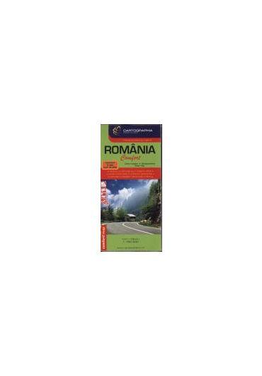 Harta Romania laminata