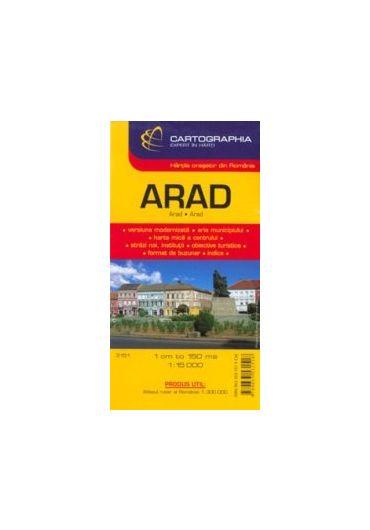 Harta rutiera Arad Timisoara