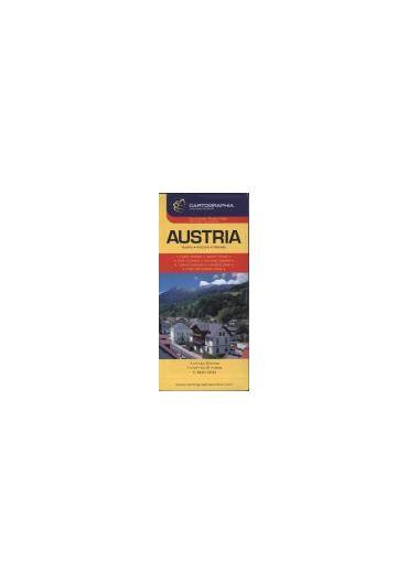 Harta rutiera Austria