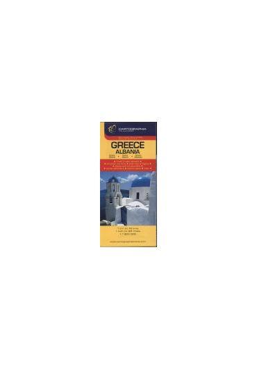 Harta rutiera Grecia