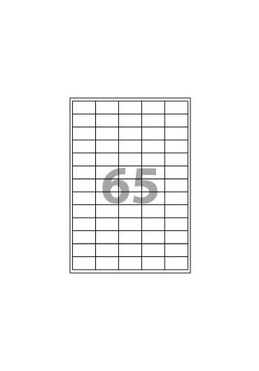 ETICHETE 65/A4 38,1*21,2MM