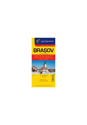 Harta rutiera Brasov - Targu Mures