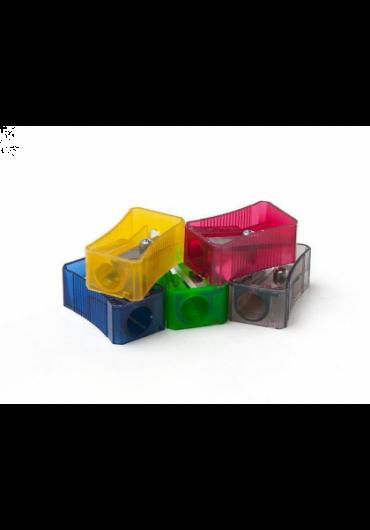 Ascutitoare plastic simpla culori fluorescente