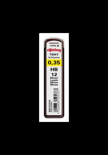 Mina creion 0.35 Rotring HB