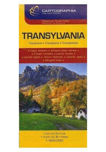 Harta rutiera Transilvania