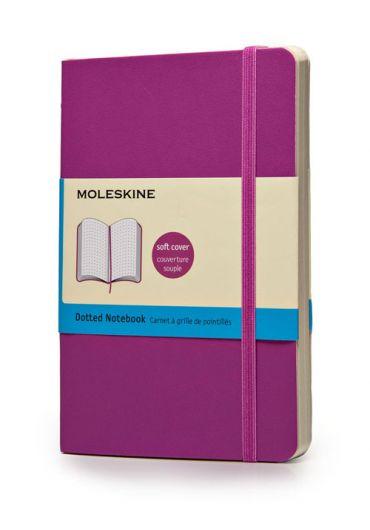 Notebook Moleskine pocket dot orchid purple soft