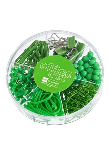 Set office Apple green mr