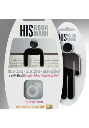His bookmark