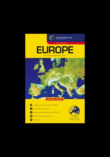 Atlas rutier. Europa 2016/2017
