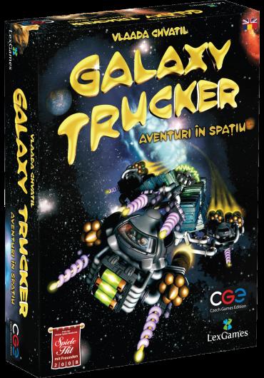 Galaxy Trucker. Aventuri in spatiu