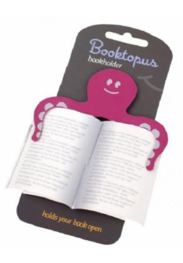 Semn de carte - Booktopus Pink