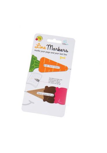 Semne de carte magnetice - Linemarkers Food