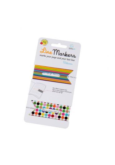 Semne de carte magnetice - Linemarkers Ribbons