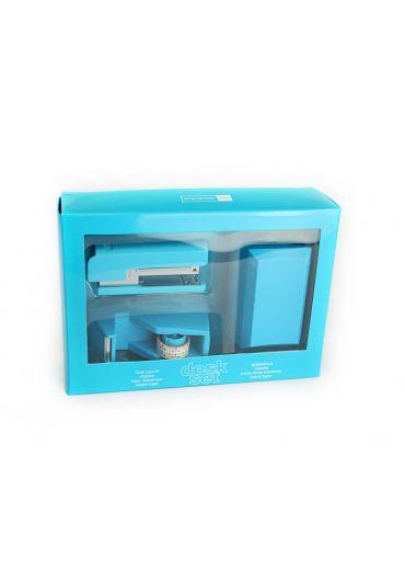 Trusa de birou Candy Colours Turquoise