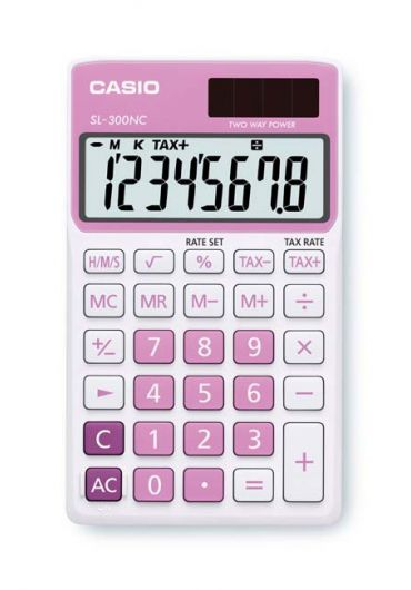 Calculator portabil 8 dg roz