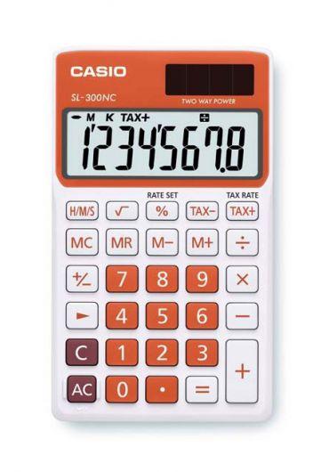 Calculator portabil 8 dg portocaliu