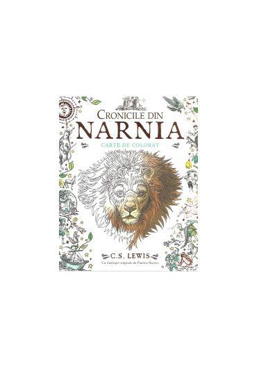 Cronicile din Narnia. Carte de colorat