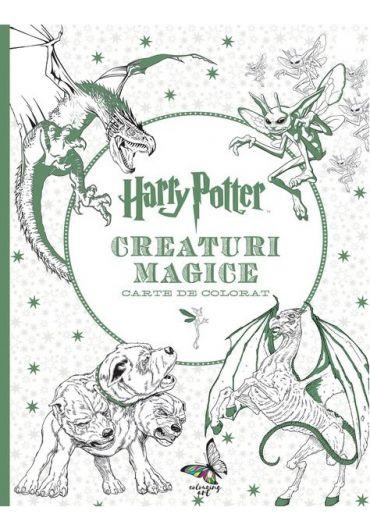 Harry Potter Carte de Colorat - Creaturi Magice