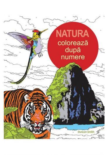Natura - Coloreaza dupa numere