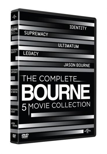 The Complete Bourne Movie Collection [DVD] [2016]