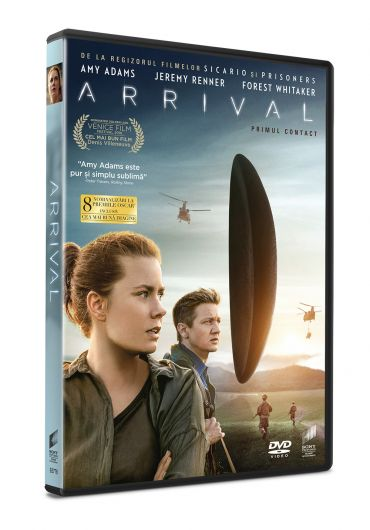Arrival [DVD] [2016]