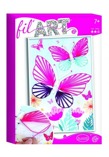 Joc creativ Fill Art - Fluture