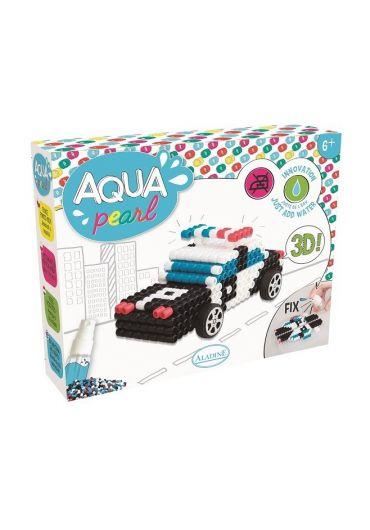 Joc creativ Aqua Pearl - Masina de politie
