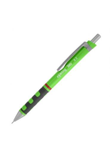 Creion mecanic Tikky 0.5 mm dark green neon