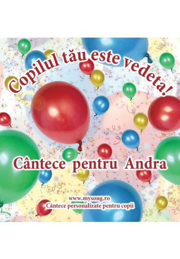 Various - Copilul tau este vedeta - Cantece pentru Andra (CD)