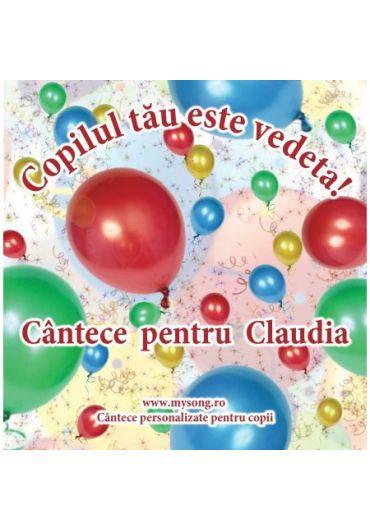 Various - Copilul tau este vedeta - Cantece pentru Claudia (CD)