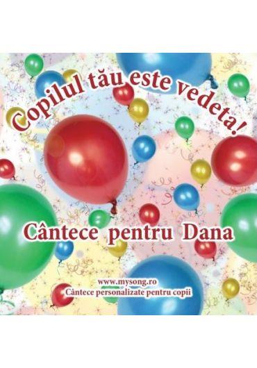 Various - Copilul tau este vedeta - Cantece pentru Dana (CD)