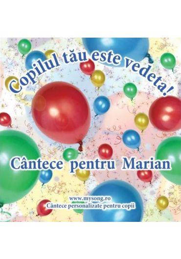 Various - Copilul tau este vedeta - Cantece pentru Marian (CD)