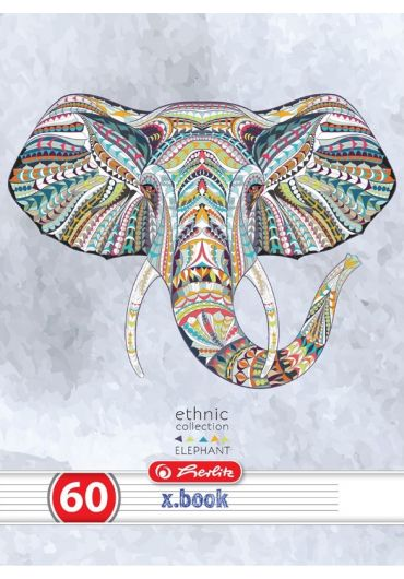 Caiet A4 60 file Dictando, motiv Ethnic