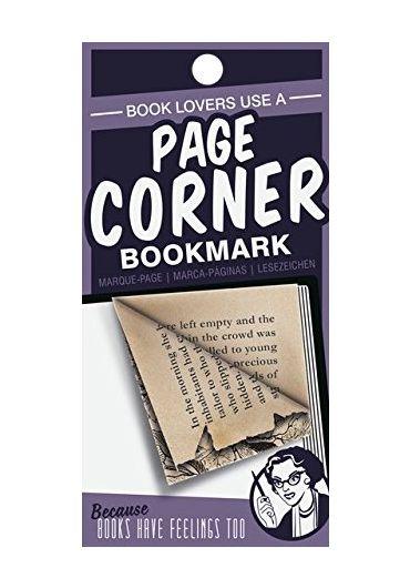 Semn de carte violet - Page corners - Book Lovers