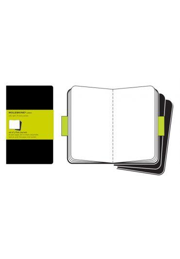 Set de 3 Agende Plain Cahier Black - Large