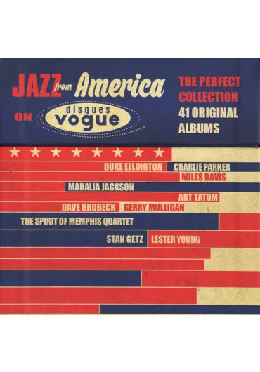 Various ?– Jazz From America On Disques Vogue - 20xCD